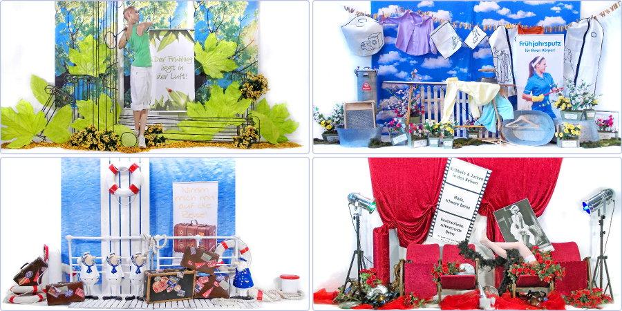 Dekorationen vor ort apodeko dekorationen werbung und design f r apotheken telefon 02 02 - Schaufenster dekorieren ideen ...